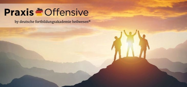 PraxisOffensive 2020 – Jetzt Aktionspreis 149 Euro sichern, anstatt regulär 699 Euro