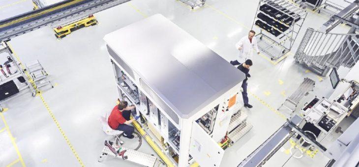Auslieferung der leistungsstärksten SMA Zentral-Wechselrichter gestartet