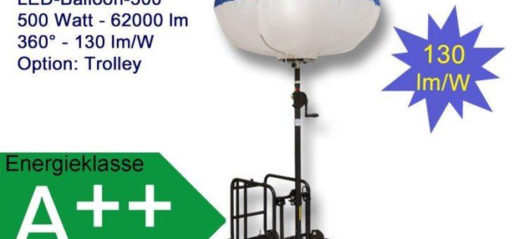 METOLIGHT LED-Ballon-Leuchte- Praktisches, flimmerfreies und verlässliches Leuchtmittel