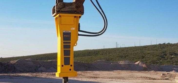 Epirocs Hydraulikhammer MB 1650 ist das neue Herzstück im Sicobrita-Maschinenpark