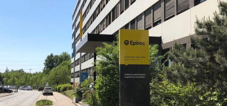 Epiroc-Werk Essen nach ISO 50001-zertifiziert