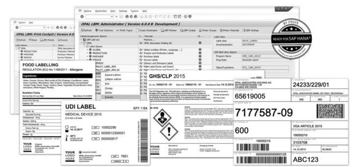 Innovative Etikettierungslösung für SAP® S/4HANA