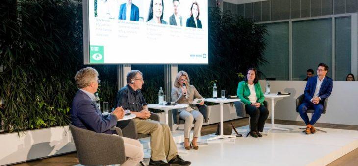 """""""Wirken Wälder Wunder?"""": Vertreter globaler und lokaler Organisationen diskutieren auf Einladung von Knorr-Bremse Global Care e.V. Ansätze für mehr Klimaschutz"""
