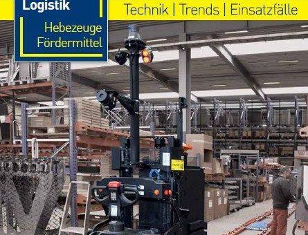 """Neues Kompendium der Fachzeitschrift Technische Logistik – Sonderpublikation """"Flurförderzeuge 2019/2020"""""""