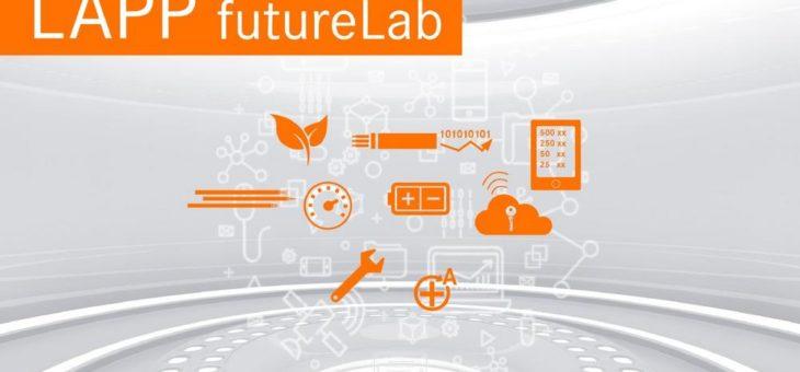 LAPP futureLab zeigt smarte Verbindungstechnik