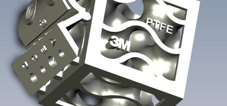 3M Technologie ermöglicht 3D-Druck mit PTFE