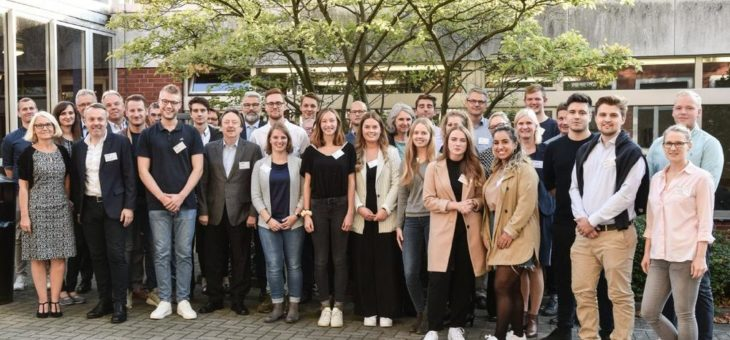 Dualer Studiengang Management im Handel begrüßt seine neuen Studierenden
