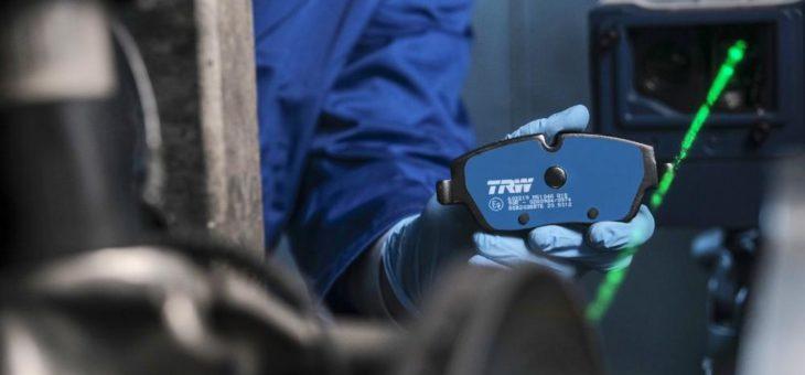 TRW Electric Blue: Bremsbelag für Elektro- und Hybridfahrzeuge mit Innovationspreis ausgezeichnet