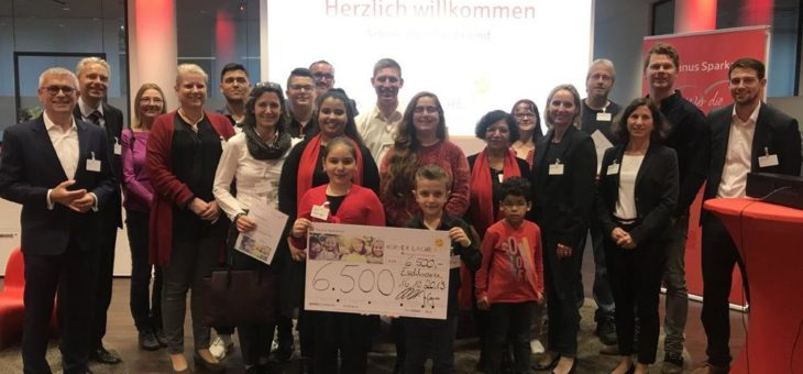 Stiftung KINDER LACHEN unterstützt Projekte für Flüchtlingskinder mit 6.500 Euro