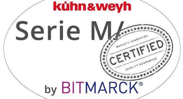 BITMARCK-Produktzertifizierung für Softwareserie M/ von kühn & weyh