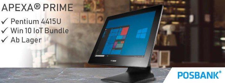 Posbank APEXA Prime mit Intel® Pentium® 4415U