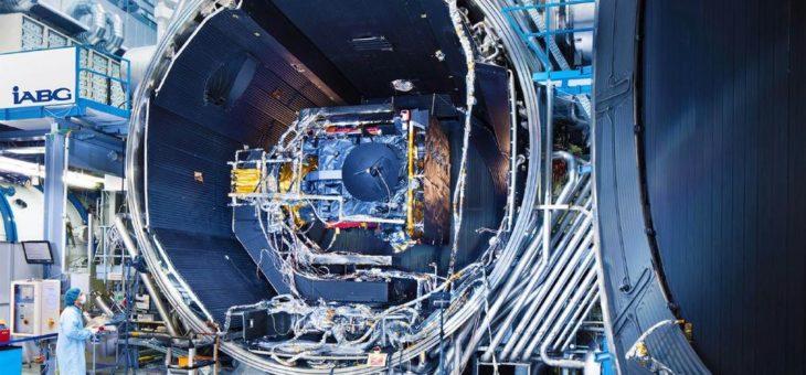 Satellit Solar Orbiter erfolgreich getestet: IABG lädt zu internationaler Presseveranstaltung