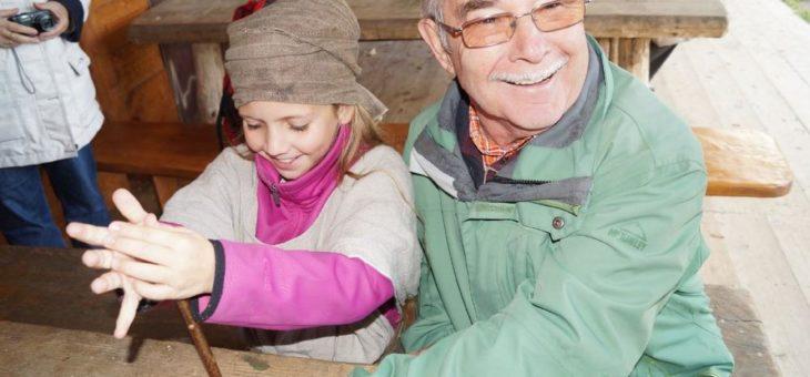 Großelterntag in den Pfahlbauten am 30.10.2019 zum Thema Ernährung