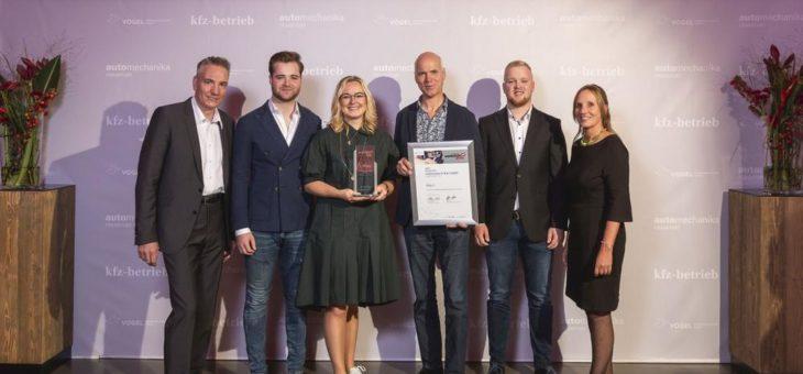 Schmauder & Rau gewinnt Deutschen Werkstattpreis 2019