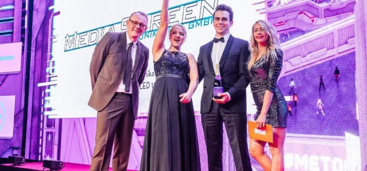 MediaScreen gewinnt AV Award 2019 mit dem MOBILE LED 135