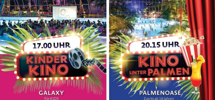 Event-November: Kino unter Palmen & Kinder-Kino