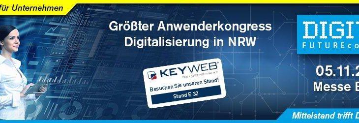 Die Keyweb AG beim DIGITAL FUTUREcongress 2019