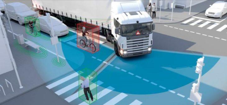 Kühl-Lkw mit Abbiegeassistent – weniger Stress für den Fahrer, mehr Sicherheit im Verkehr