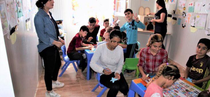 Kleines Paradies im Lager: Shelter Now fördert Zentrum für jesidische Waisen