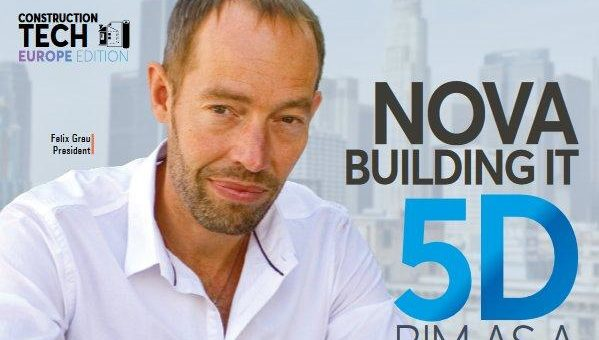 """NOVA Building IT an der Spitze der europäischen """"Construction Tech Consulting Companies"""""""