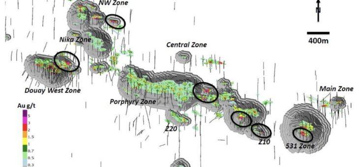 Maple Gold mit neuer Ressourcenschätzung und Auryn erreicht Explorationsziele