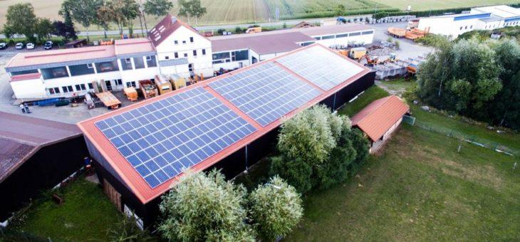 SunPower Solaranlagen fuer die Industrie mit 25 Jahre Garantie