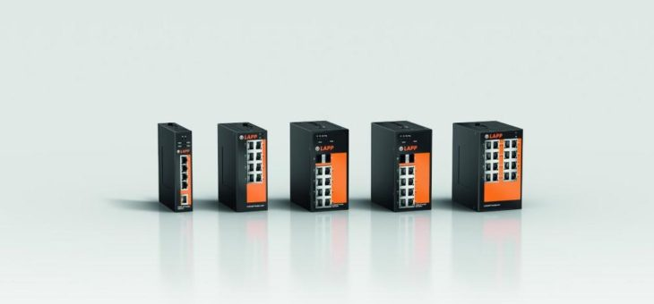 Neue ETHERLINE® ACCESS Switches von LAPP