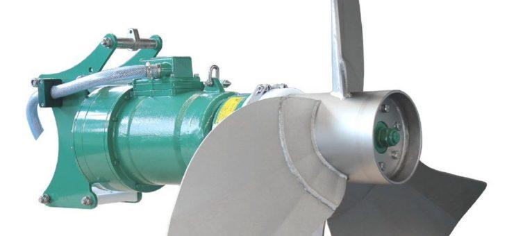Neues SUMA Tauchmotorrührwerk für Biogas