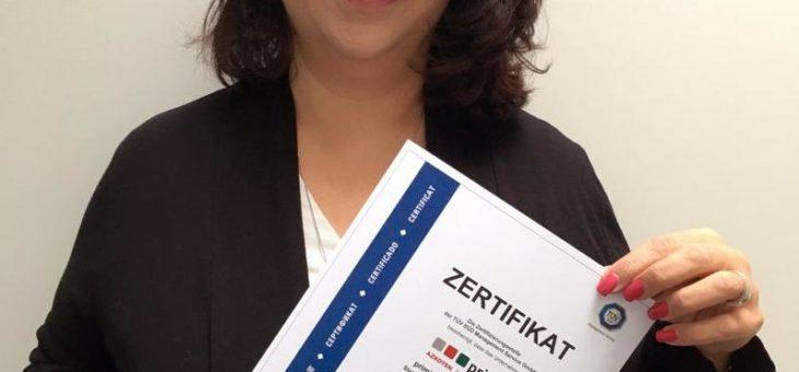 primion erhält als erster Anbieter das ISO/IEC – 27001 Zertifikat für Informationssicherheits-Management