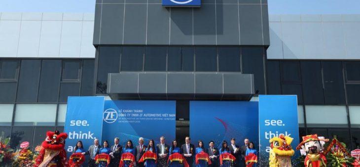 Neuer Kunde für Fahrwerkmodultechnik: ZF eröffnet erstes Werk in Vietnam