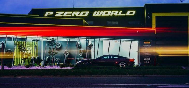 Die Pirelli P Zero World kommt nach Melbourne: Der fünfte Flagship Store komplettiert die globale Abdeckung der Marke