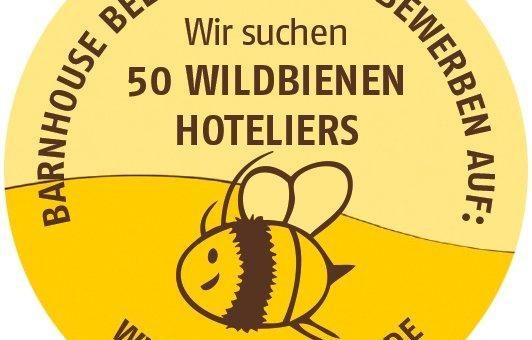 Wildbienen-Hoteliers gesucht