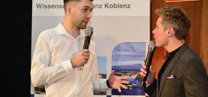 Koblenzer Hochschulpreisverleihung der Wirtschafts- und Wissenschaftsallianz