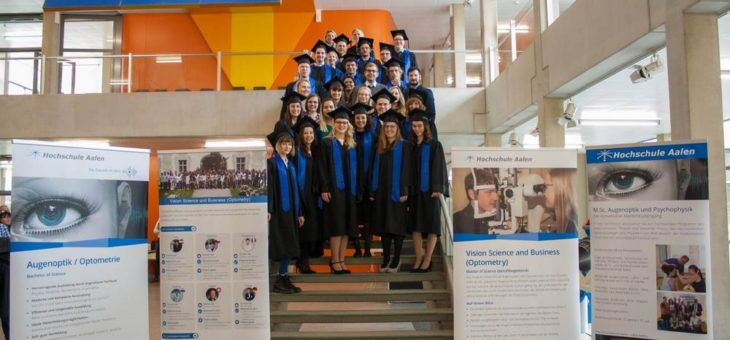 Masterabsolventen der Hochschule Aalen erhalten Karl Amon Optometry Award
