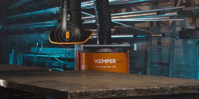 Safe and sound: KEMPERbeats bringt die Schweißrauchabsaugung auf neues Level