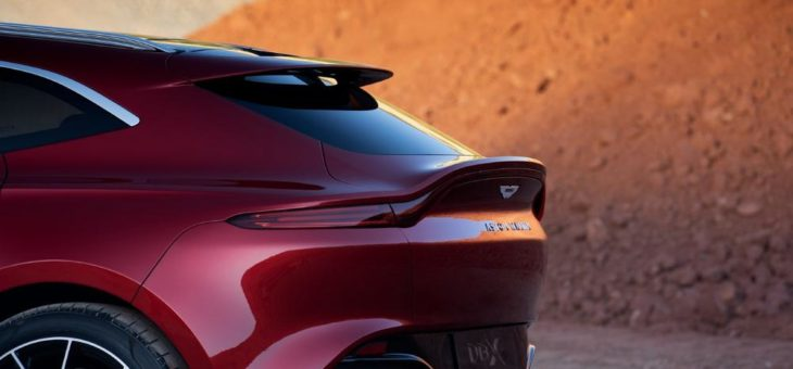 Pirelli liefert drei verschiedene Reifentypen für den brandneuen Aston Martin DBX