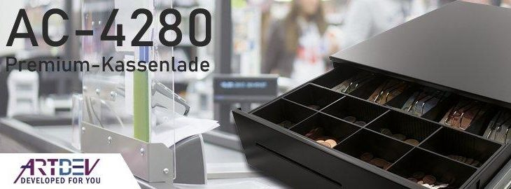 ARTDEV AC-4280 – Premium Kassenschublade