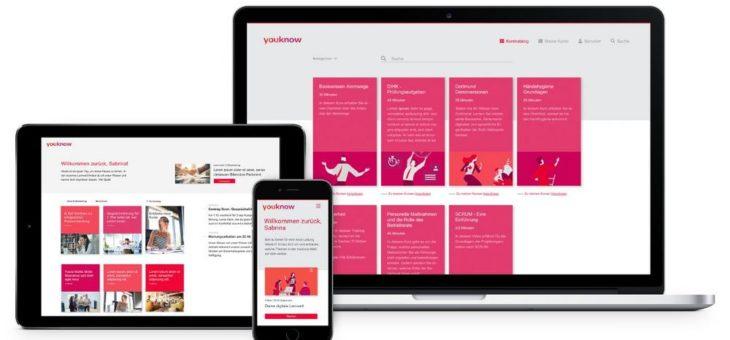 youknow präsentiert neues Learning Management System auf der LEARNTEC