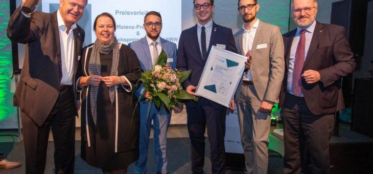 Kueppers Solutions GmbH aus Gelsenkirchen gewinnt Effizienz-Preis NRW für innovative und ressourcenschonende Mischeinheit für Gasbrenner