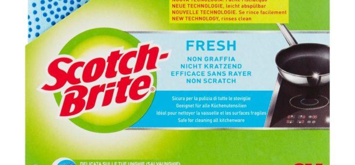 Neue Scotch-Brite Fresh Reinigungsschwämme für einen hygienischeren Abwasch