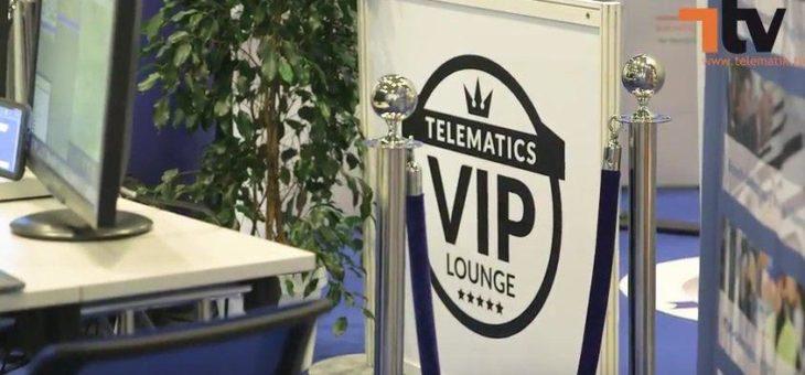 Telematics-Scout.com in der Telematics VIP-Lounge zur hypermotion 2019