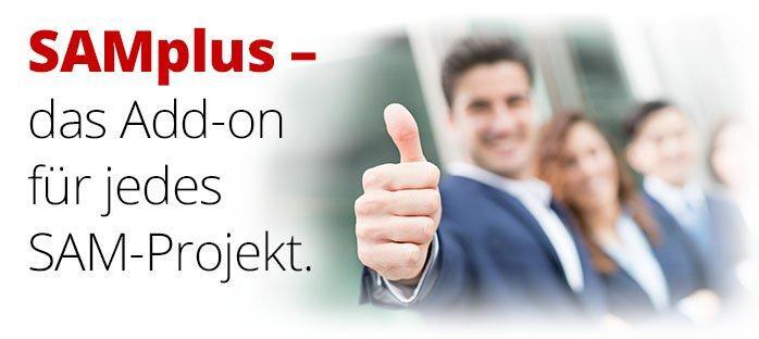SAMplus – perfekter Start in ein problemloses SAM-Projekt