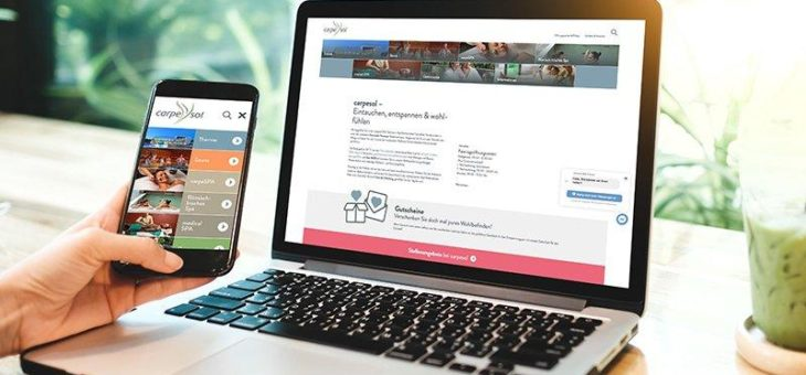 Eintauchen, entspannen & wohlfühlen – carpesol SPA Therme in Bad Rothenfelde präsentiert neue Website