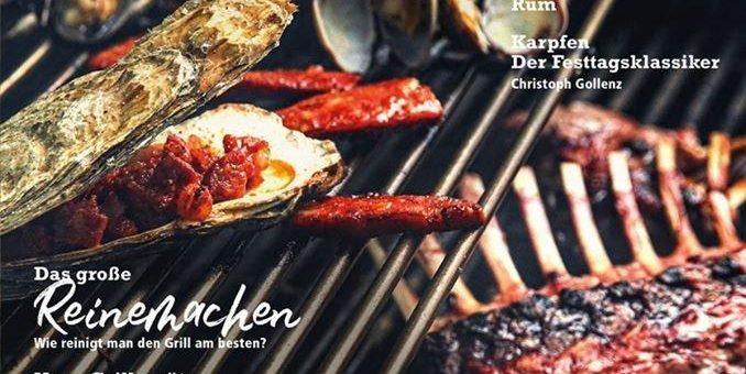 Jetzt in der neuen FIRE&FOOD: BBQ around the world