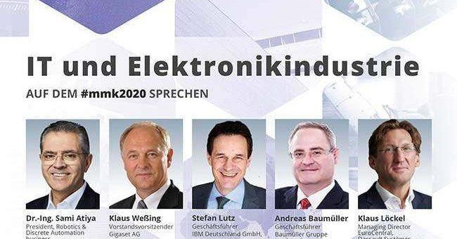 27. Münchner Management Kolloquium: Neue Geschäftsmodelle / Künstliche Intelligenz / Maschinenlernen