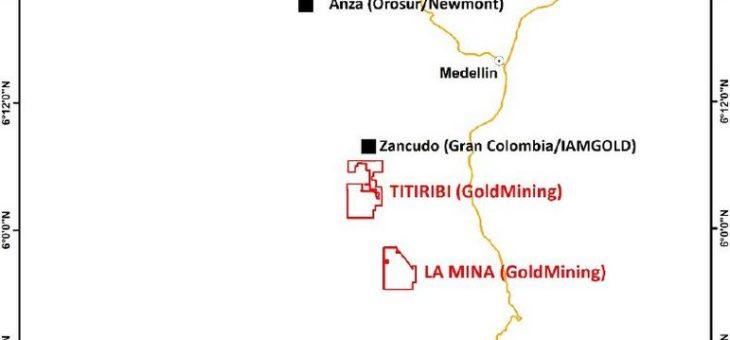 GoldMining schliesst Übernahme des Goldprojekts Yarumalito in Kolumbien ab