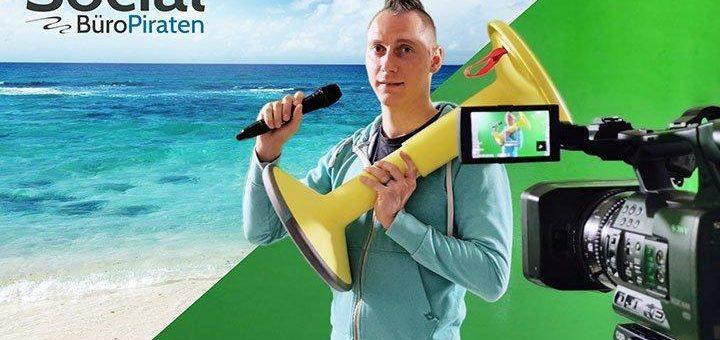 Die Werbeagentur MIU24® leistet Pionierarbeit: Social TV ☺ mit Büropiraten® TV in den digitalen Räumen des Workshopwerks®