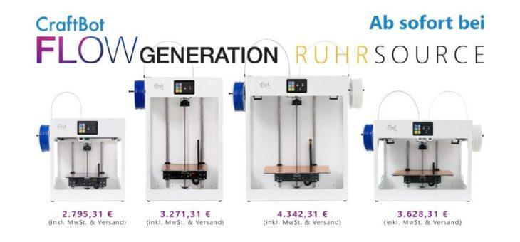 Ab jetzt versandkostenfrei hier erhältlich: CraftUnique CraftBot Flow Generation