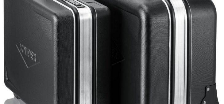 Das neue KNIPEX Koffersortiment   Außen robust, innen geräumig – für jeden Einsatzort das passende Modell