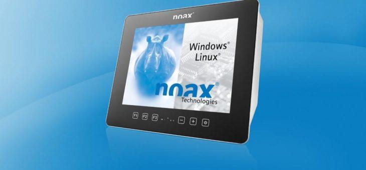 noax Steel PCAP-Touch Industrie-PC jetzt auch im 15 Zoll-Format: